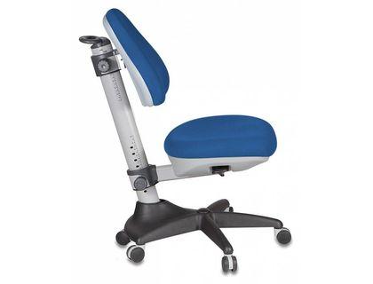 Кресло детское Бюрократ KD-2/G/TW-10 синий TW-10 (серый пластик ручки) | интернет-магазин TOPSTO