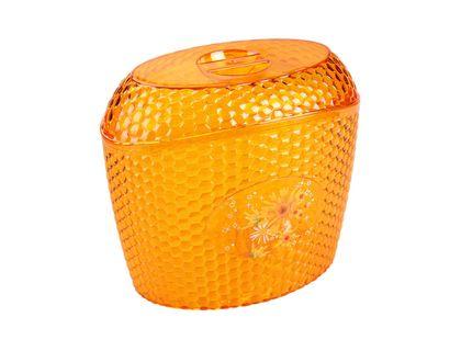 Емкость для сыпучих продуктов АЛЬТЕРНАТИВА Мозаика 3 л оранж. М5596   интернет-магазин TOPSTO