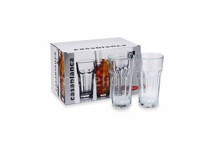 Набор стаканов Pasabahce Касабланка стакан 475 мл 6шт 52707BT | интернет-магазин TOPSTO