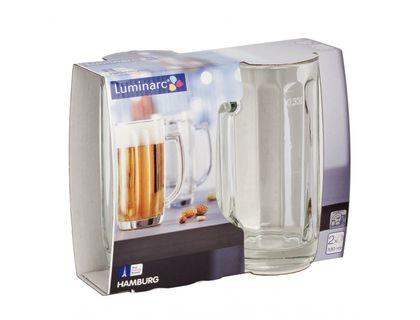 Набор кружек для пива LUMINARC Gamburg 2 шт 330 мл H5126 | интернет-магазин TOPSTO
