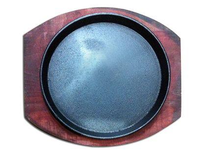 Сковорода чугун на подставке круглая 23 см MVQ 71035-24 | интернет-магазин TOPSTO