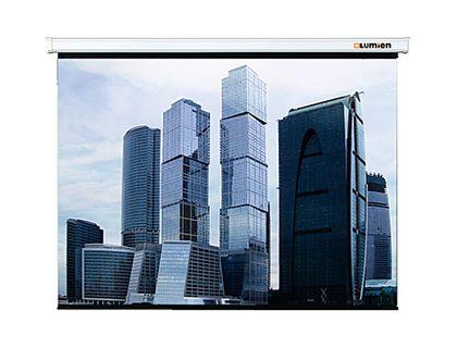 Настенный экран Lumien Eco Picture 160х160 см Matte White (LEP-100105) | интернет-магазин TOPSTO