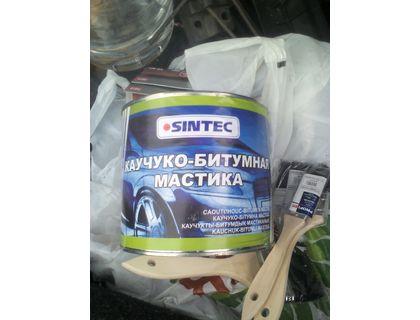 Мастика каучуко-битумная Sintec 2 л | интернет-магазин TOPSTO
