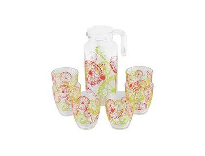 Набор Pasabahce Фазенда Сок Кувшин + 6 стаканов 95972BD1   интернет-магазин TOPSTO