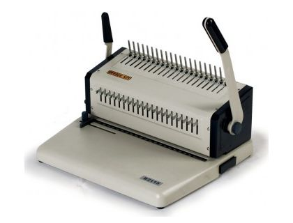 Переплетчик Office Kit B2115 A4/перф.15л.сшив./макс.500л./пластик.пруж. (6-51мм) | интернет-магазин TOPSTO