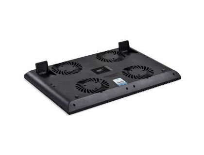 "Подставка для ноутбука Deepcool MULTI CORE X8 17"" 381x268x29mm 23dB 2xUSB 1290g Fan-control Black 