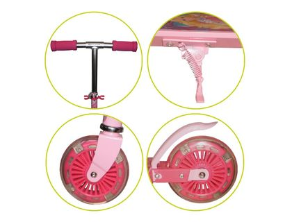 Самокат Navigator Barbie 2-хкол. Т56922   интернет-магазин TOPSTO