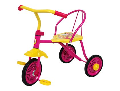 Велосипед 1toy Barbie 3-хкол.кол.9 /8 роз Т58440 | интернет-магазин TOPSTO