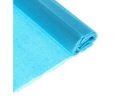Бумага креповая Феникс эластичн. голубая 30г/м2 50х250 см 1лист | интернет-магазин TOPSTO