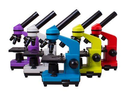 Микроскоп Levenhuk Rainbow 2L Orange | интернет-магазин TOPSTO
