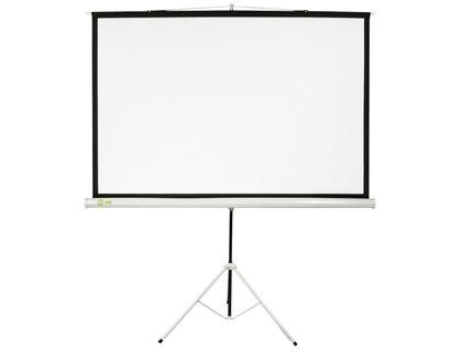 Экран Cactus 127х127см Triscreen CS-PST-127X127 1:1 напольный рулонный   интернет-магазин TOPSTO
