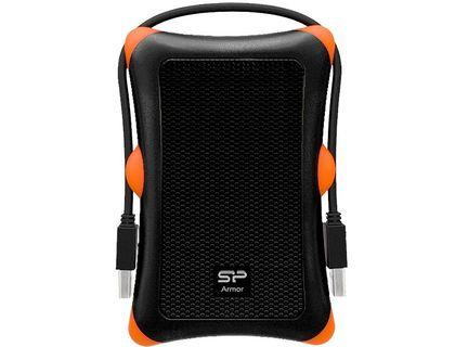 """Жесткий диск Silicon Power USB 3.0 2Tb A30 SP020TBPHDA30S3K Armor 2.5"""" черный   интернет-магазин TOPSTO"""
