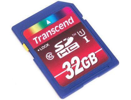 Флеш карта SDHC 32Gb Class10 Transcend TS32GSDHC10 Premium w/o adapter | интернет-магазин TOPSTO