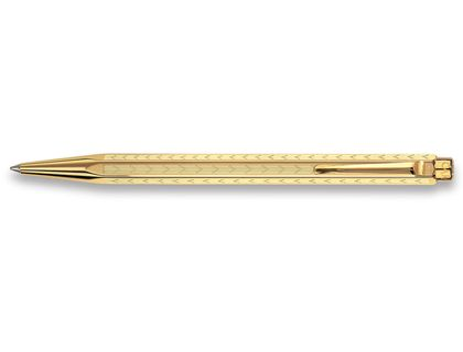 Ручка шариковая Carandache Ecridor Chevron gilded 898.208 | интернет-магазин TOPSTO