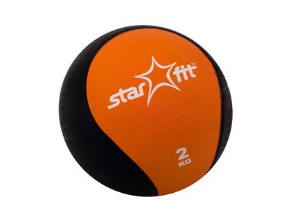 Медбол STARFIT Pro GB-702 2кг оранжевый   интернет-магазин TOPSTO