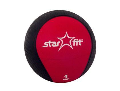 Медбол STARFIT Pro GB-702 1кг красный | интернет-магазин TOPSTO