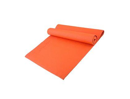 Коврик для йоги STARFIT FM-101 PVC 173x61x0,4см оранжевый | интернет-магазин TOPSTO