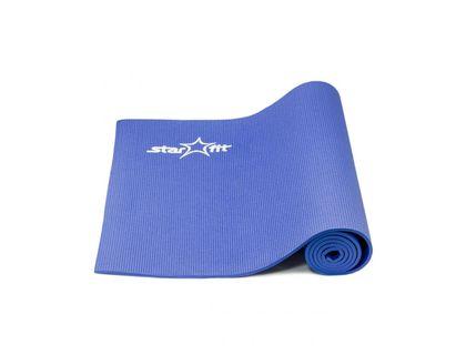 Коврик для йоги STARFIT FM-101 PVC 173x61x0,6см синий | интернет-магазин TOPSTO