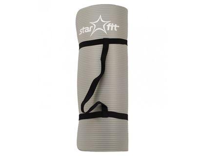 Коврик для йоги STARFIT FM-301 NBR 183x58x1,0см серый | интернет-магазин TOPSTO