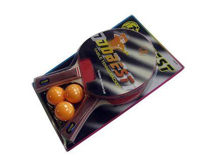 Набор для настольного тенниса DOBEST BR06 0 звезд 2 ракетки + 3 мяча | интернет-магазин TOPSTO