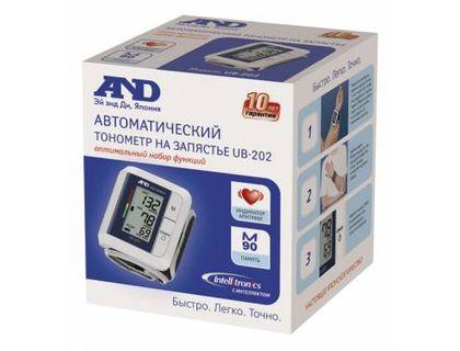 Тонометр запястный A&D UB-202 | интернет-магазин TOPSTO