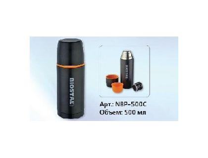 Термос BIOSTAL Спорт NBP-500C 0,5 л.   интернет-магазин TOPSTO
