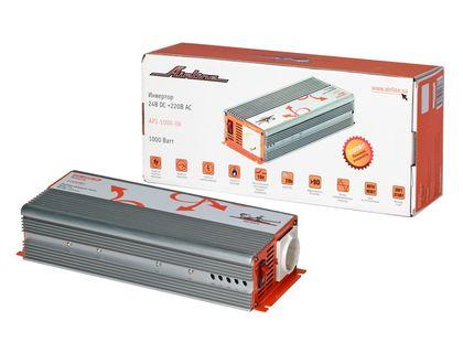 Автоинвертор AIRLINE API-1000-06 24В-220В, 1000 Вт (18320)   интернет-магазин TOPSTO