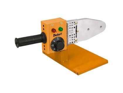 Аппарат для сварки труб DEFORT DWP-1000 | интернет-магазин TOPSTO