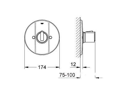 Термостат GROHE Grohtherm 2000 19240000 | интернет-магазин TOPSTO
