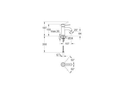 Смеситель GROHE BauClassic 23162000 | интернет-магазин TOPSTO
