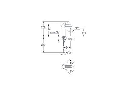 Смеситель GROHE Essence New 34294001 | интернет-магазин TOPSTO