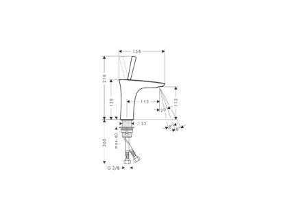 Смеситель HANSGROHE PuraVida 15070000 | интернет-магазин TOPSTO
