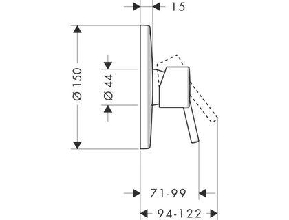Смеситель HANSGROHE Talis S 32675000 | интернет-магазин TOPSTO