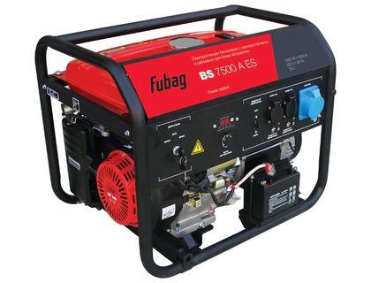Генератор бензиновый Fubag BS 7500 A ES | интернет-магазин TOPSTO