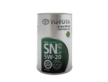 TOYOTA Motor Oil SAE 5W20 SN/GF-5 (1л) (Япония) 08880-10606 (16464) | интернет-магазин TOPSTO