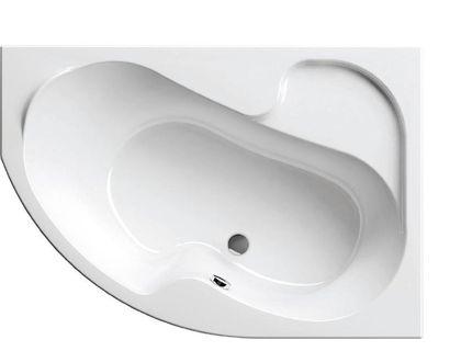 Ванна RAVAK Rosa I 140х105 правая белая (CV01000000) | интернет-магазин TOPSTO