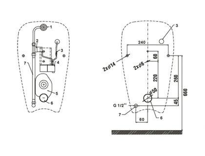 Писсуар JIKA GOLEM 4307.0.000.483.1 Sensor Antivandal | интернет-магазин TOPSTO
