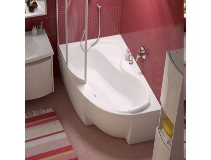 Ванна RAVAK Rosa 95 160х95 левая белая (C571000000) | интернет-магазин TOPSTO