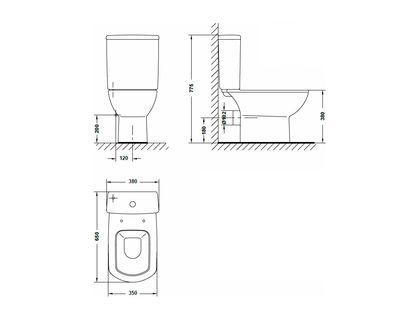 Крышка-сиденье GALA SMART 51621 (51616) | интернет-магазин TOPSTO