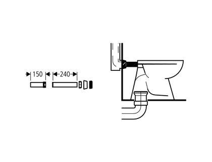 Патрубок GROHE 37102SH0 | интернет-магазин TOPSTO