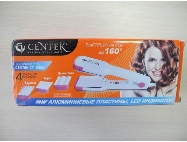 Выпрямитель для волос centek ct-2005 35вт отзывы
