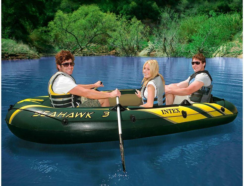 пластиковая лодка как надувная